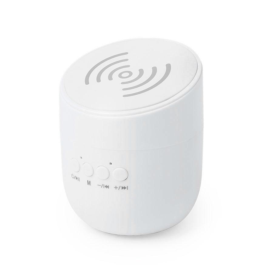 Bluetooth колонка со встроенной беспроводной зарядкой Dortam
