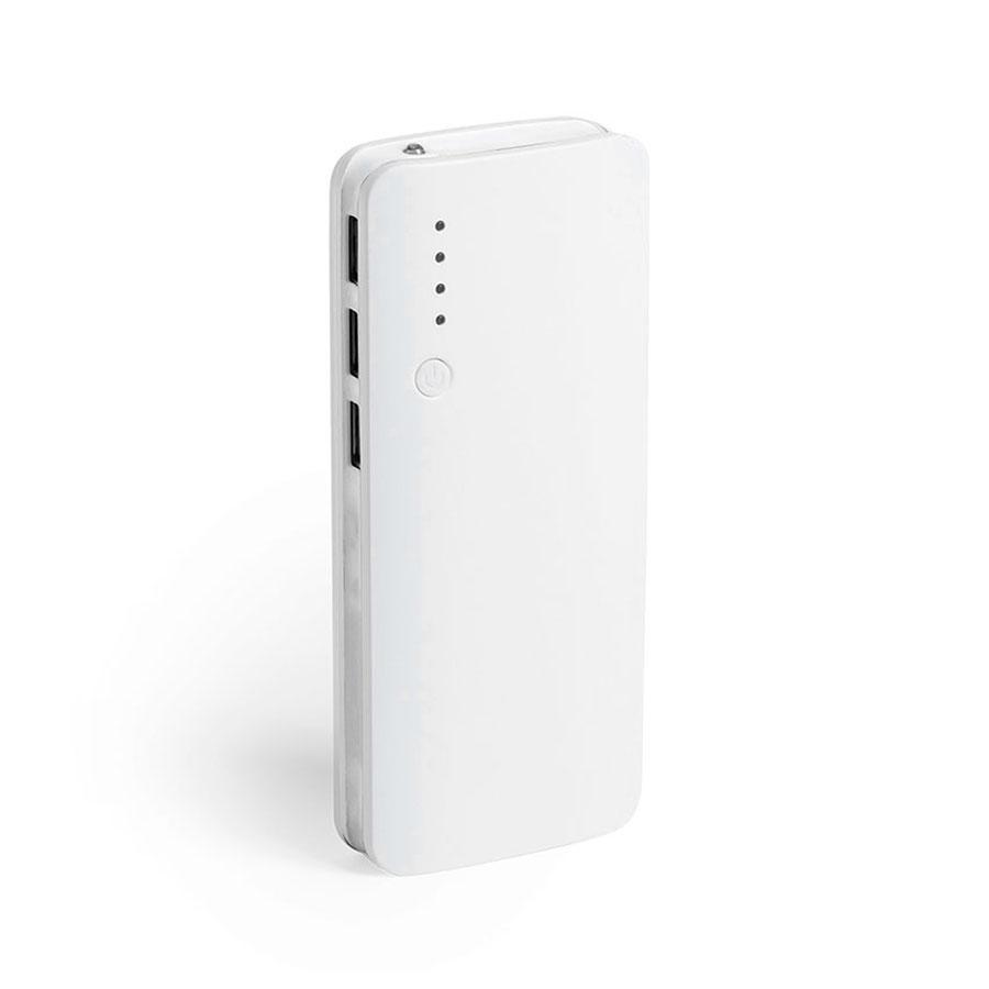 Аккумулятор KAPRIN 10000 mAh DUO-POWER, 10000 mAh, белый