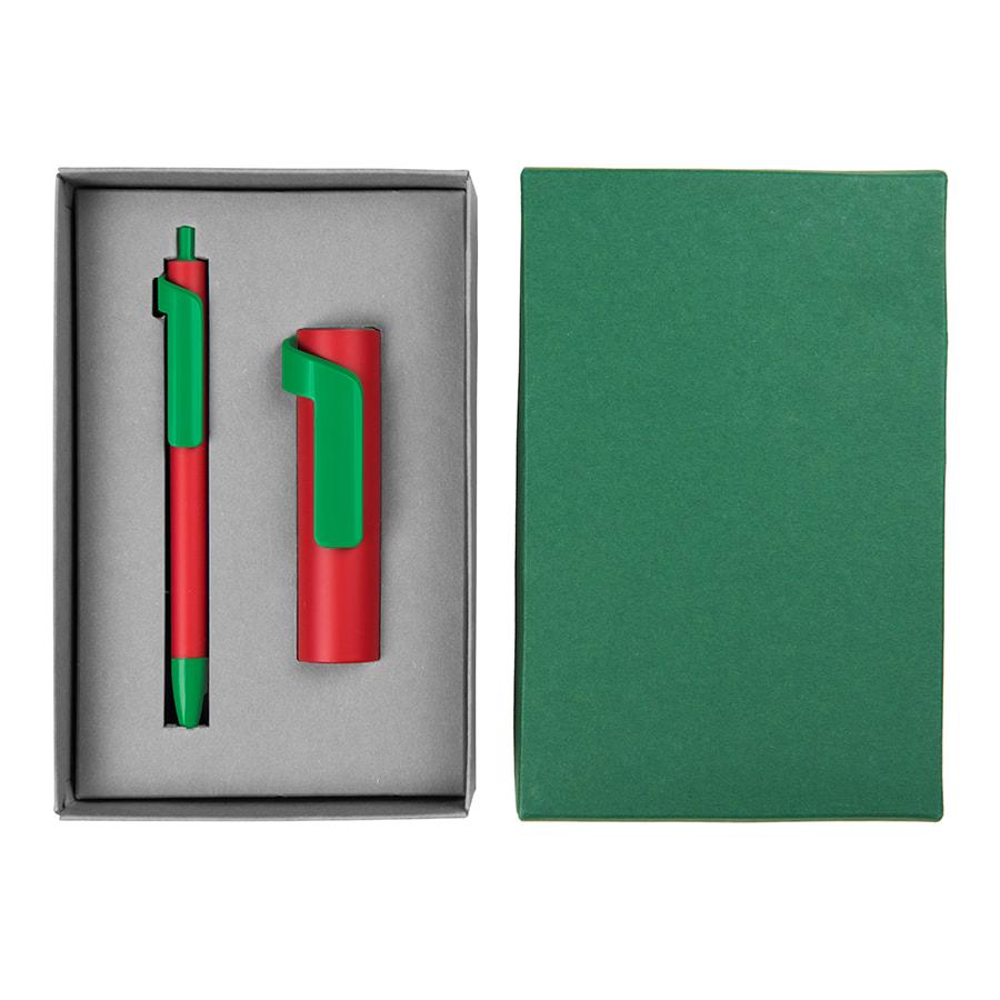 Набор подарочный FORTE SET FANTASY: универсальное зарядное устройство(3000мАh) и ручка