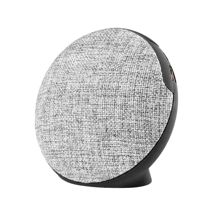 Bluetooth колонка FABRIC BASS круглая