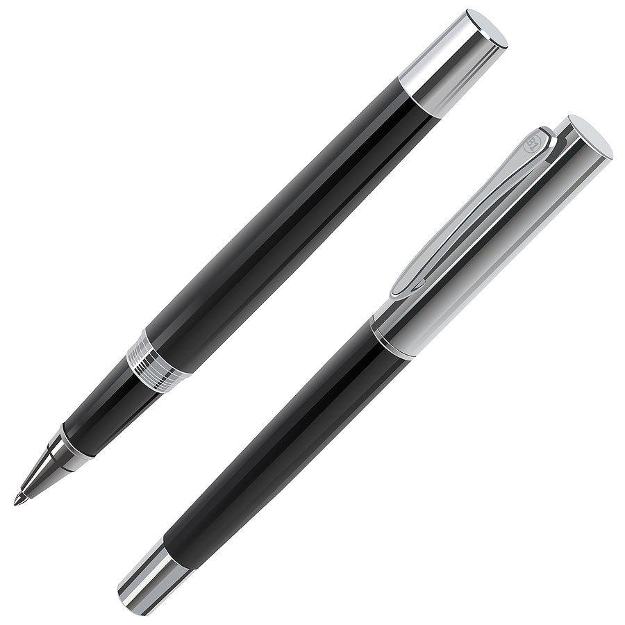CRAFT, ручка-роллер, черный/хром