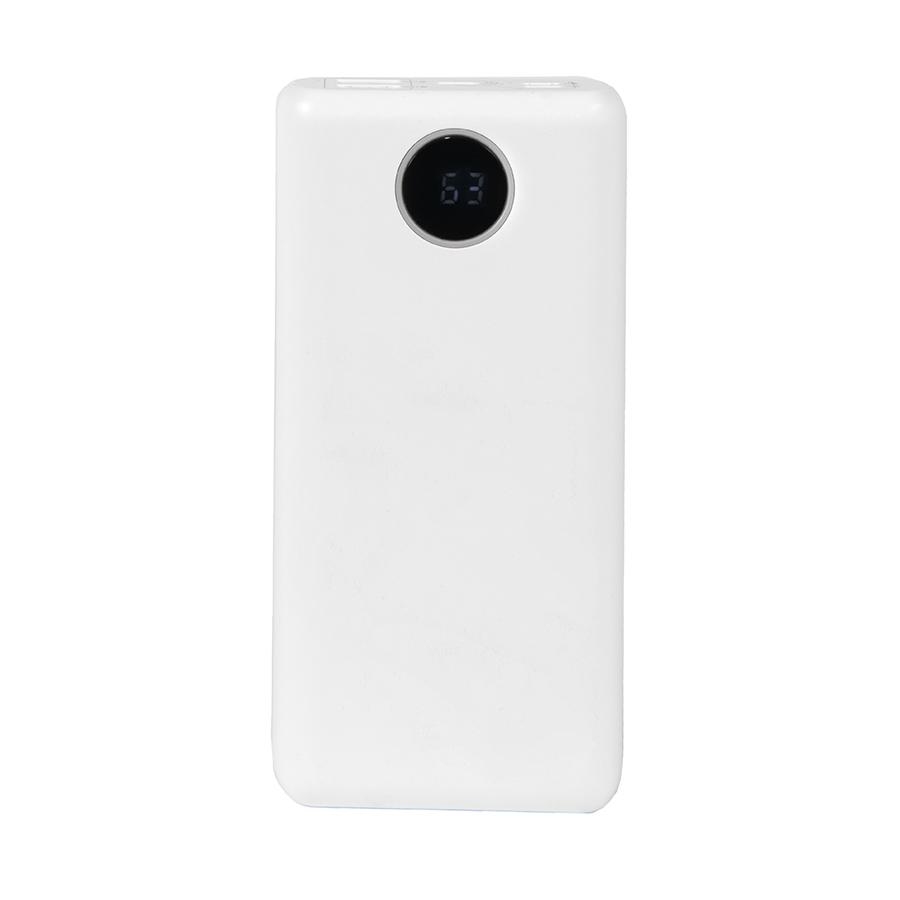 Универсальный аккумулятор TRINITY 30, 30000 мАч, 3,7В, белый
