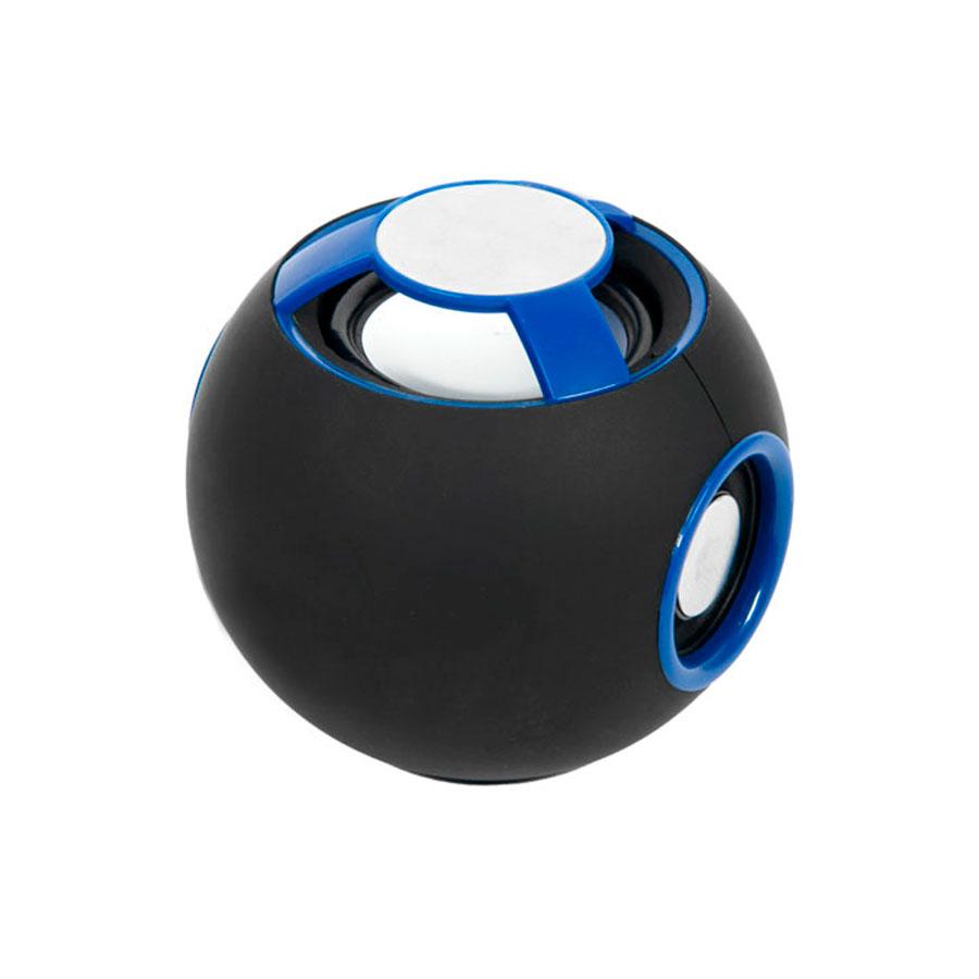 Колонка акустическая BLUETOOTH, SPHERE, синяя