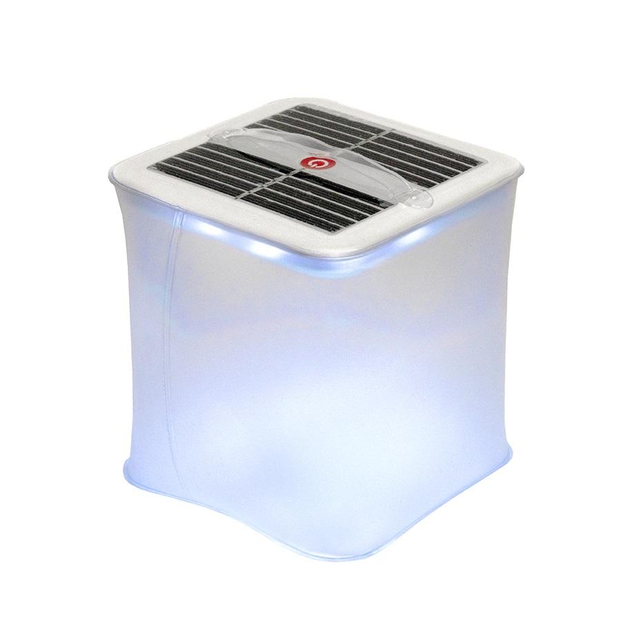 Лампа надувная TOURIST с LED подсветкой и зарядкой от солнца