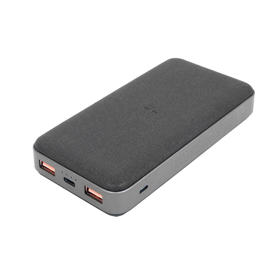Универсальный аккумулятор SVARGE, 16000 mAh с беспроводной зарядкой, QC, PD