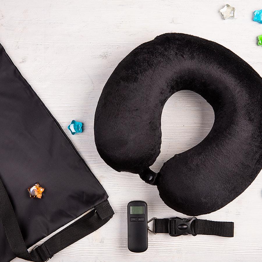 Набор подарочный HI`SKY: подушка, весы дорожные,  рюкзак