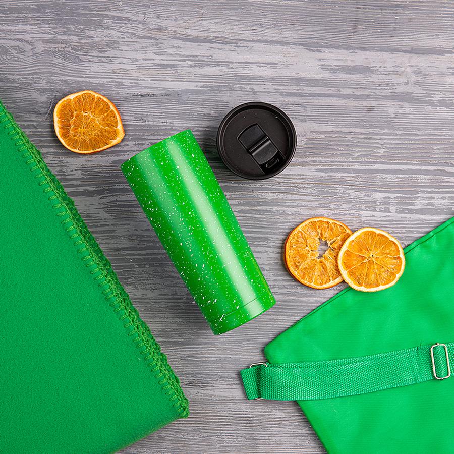 Набор подарочный B`COZY: плед, термокружка, рюкзак