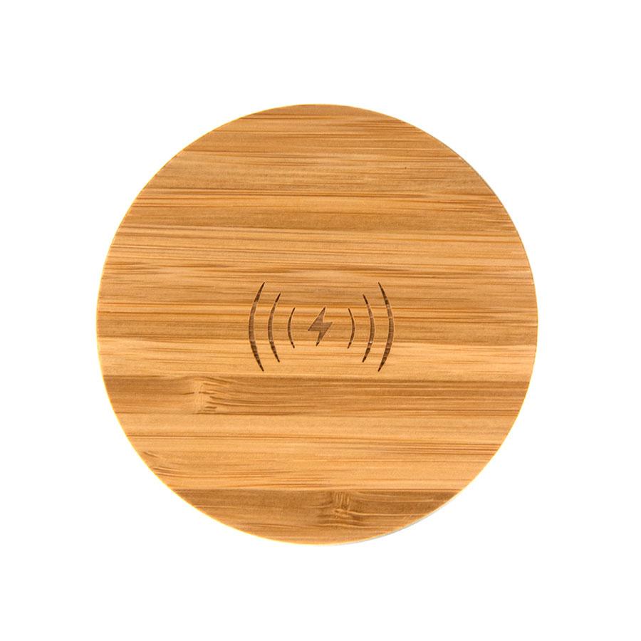 Зарядка беспроводная 5W бамбук BMB CHARGE 5