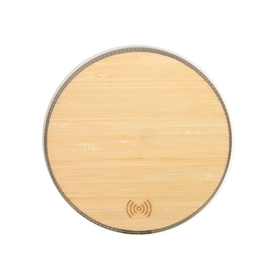 Зарядка беспроводная 10W бамбук BMB CHARGE 10