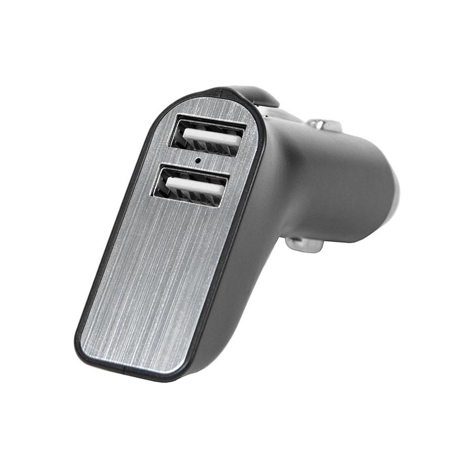 Адаптер автомобильный CARMATE с выходом USB иType C