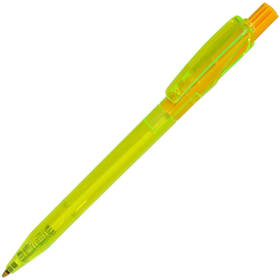 TWIN LX, ручка шариковая, прозрачный голубой, пластик