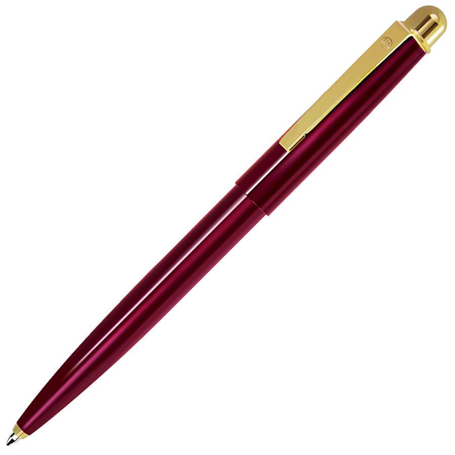 DELTA NEW, ручка шариковая, красный/золотистый