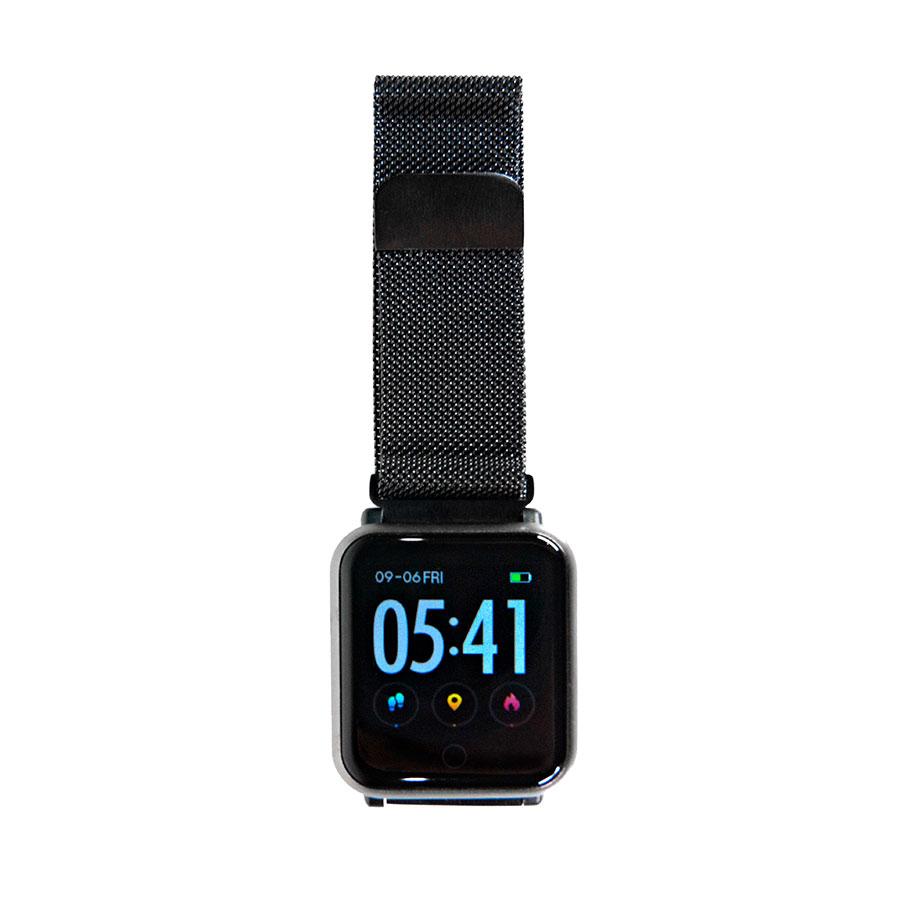 браслет к часам SAM металлический черный