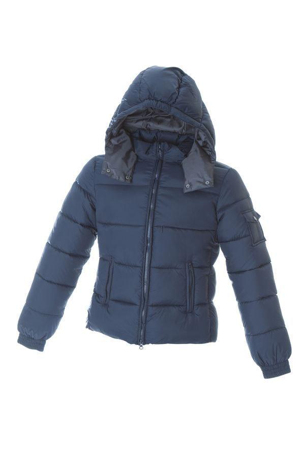 FIANDRE Жен. утепленная куртка, темно-синий, размер S,100% нейлон; подкладка: 100% полиэстер