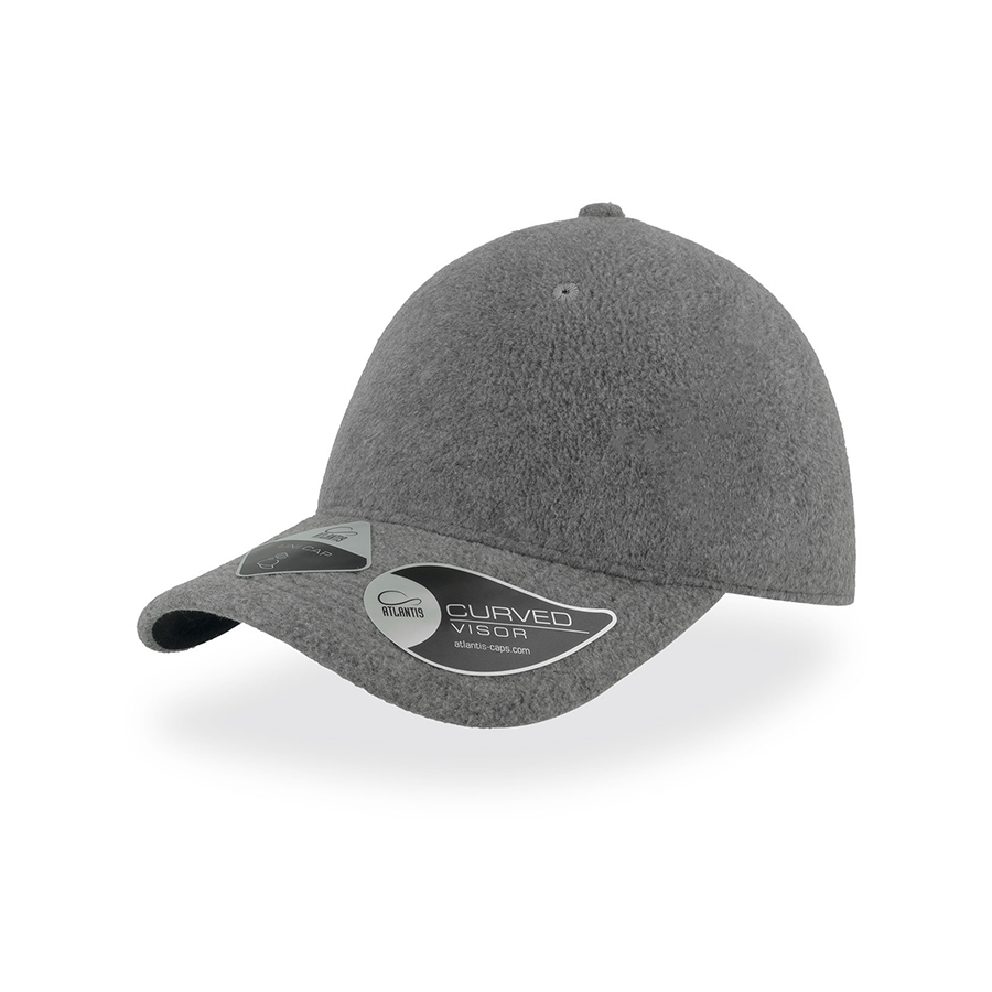 Бейсболка UNI-CAP POLARFLEECE, без панелей и швов, без застежки