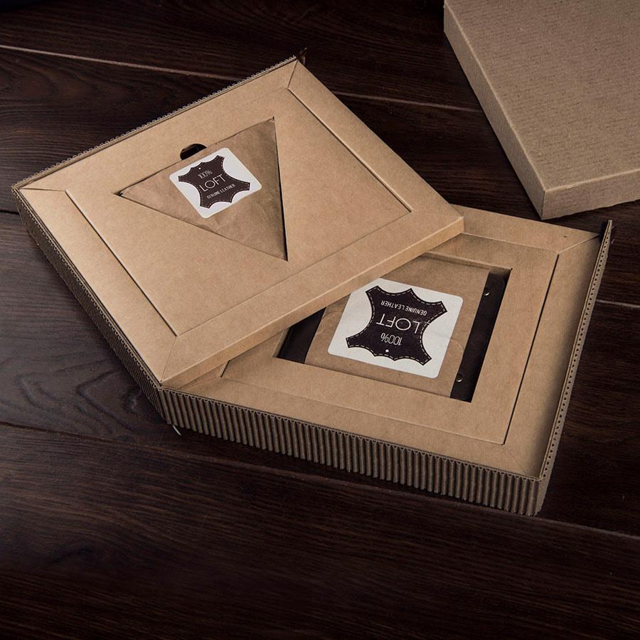 Набор подарочный LOFT: портмоне и чехол для наушников