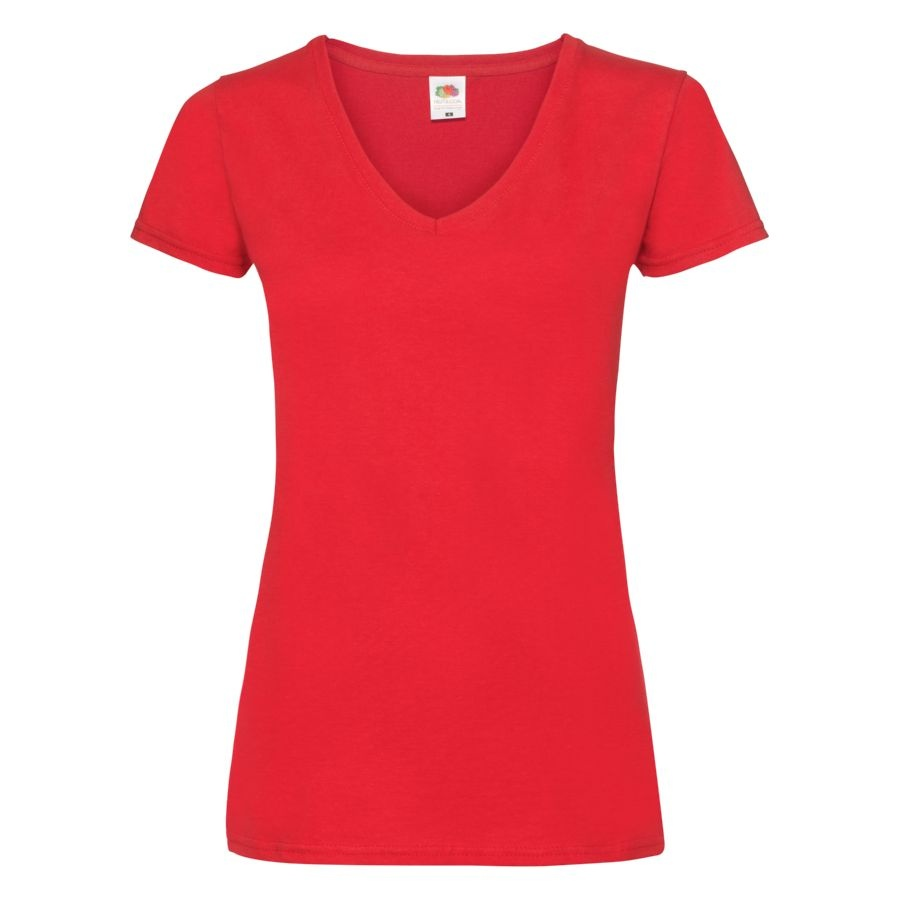 "Футболка ""Lady-Fit V-Neck T"""