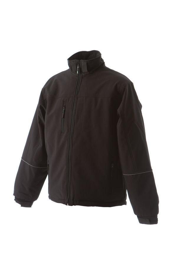 BERING Куртка софтшел, водонеприницаемая черный, размер S