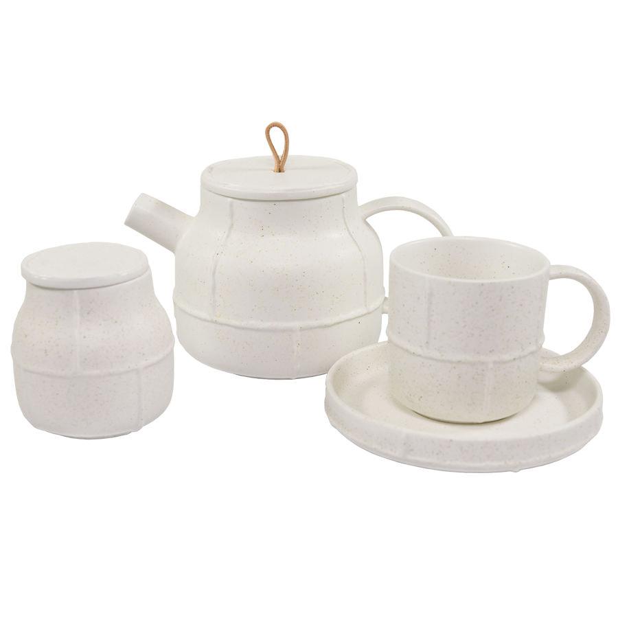 Набор PROVENCE: чайник,чайная пара и сахарница в подарочной упаковке, фарфор