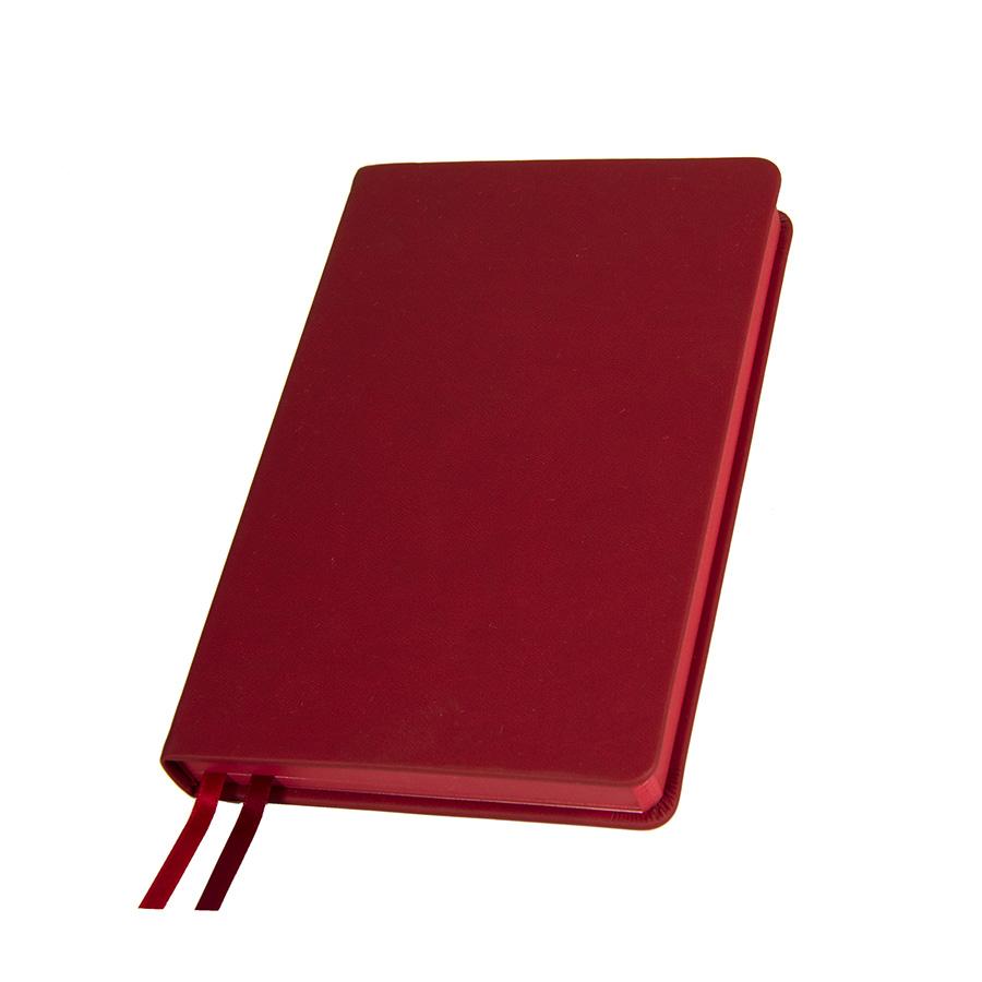 Ежедневник недатированный Softie, А5, бордовый, кремовый блок, бордовый обрез