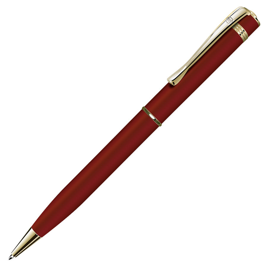 ADVISOR, ручка шариковая, красный/золотистый