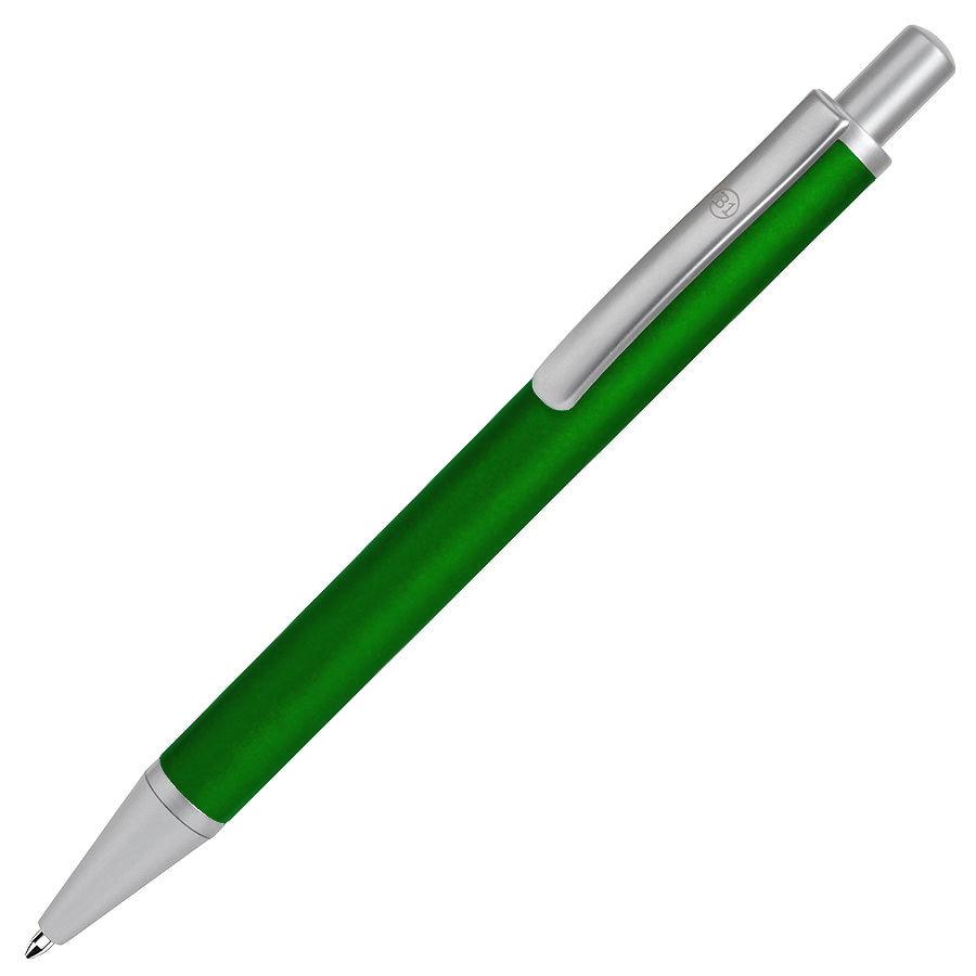 CLASSIC, ручка шариковая, зеленый/серебристый, черная паста