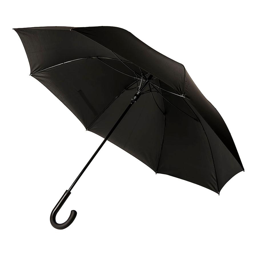 Зонт-трость CAMBRIDGE с ручкой soft-touch, полуавтомат