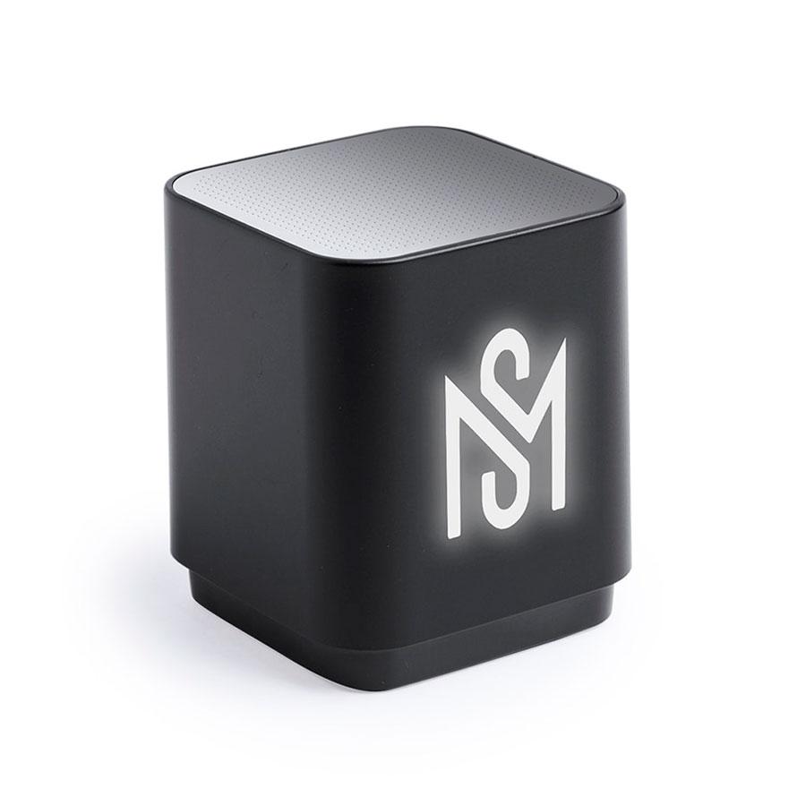 Портативная Bluetooth-колонка LUNEM с подсветкой, пластик