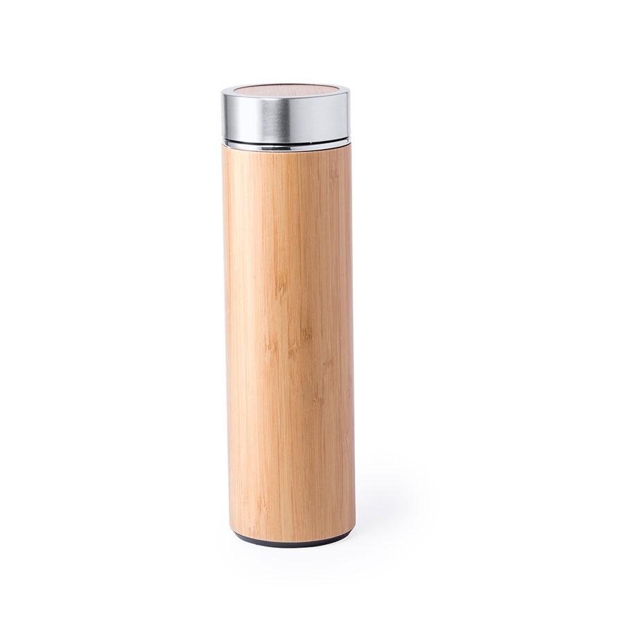 Бутылка из нержавеющей стали MOLTEX 500мл , бамбук