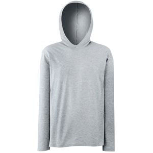 Футболка LONG SLEEVE HOODED T 160