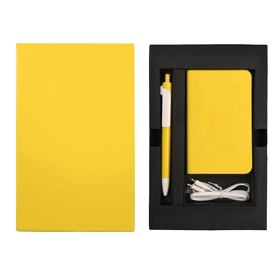 Набор подарочный POWER BOX MINI: универсальное зарядное устройство(4000мАh) и ручка