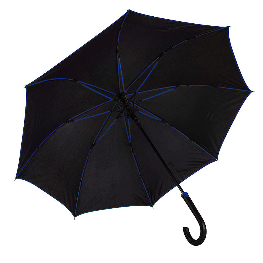 Зонт-трость BACK TO BLACK, полуавтомат