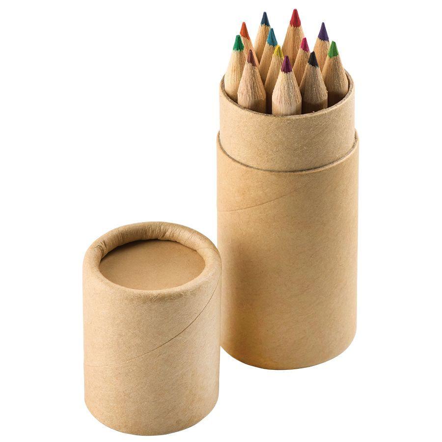 Набор цветных карандашей (12шт)