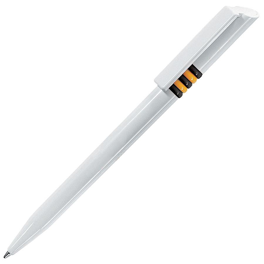 GRIFFE, ручка шариковая, черные и желтые колечки