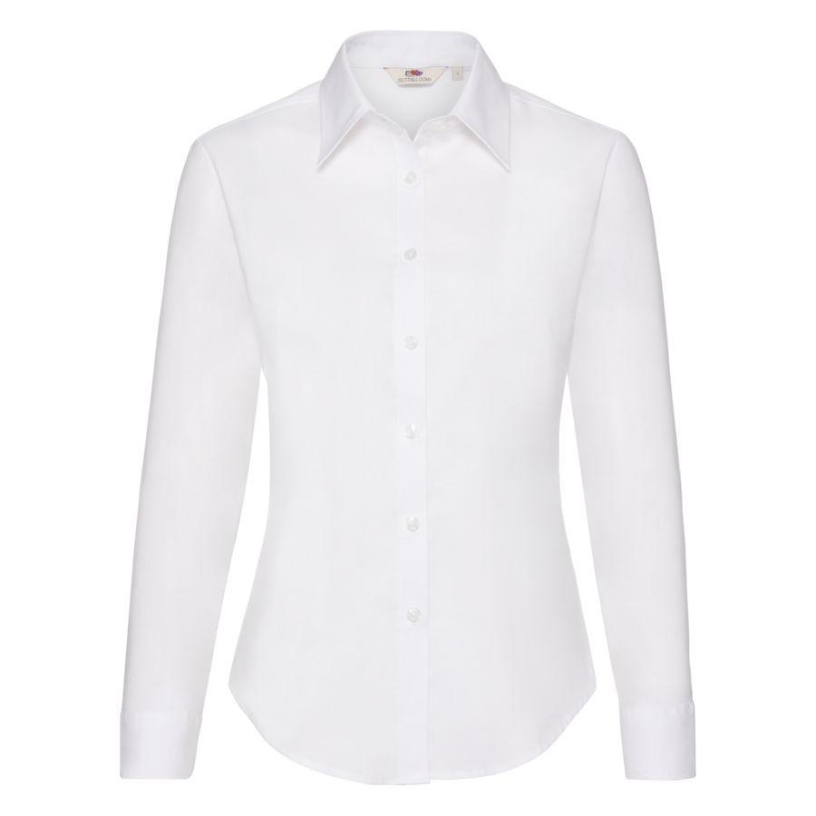 Рубашка женская LONG SLEEVE OXFORD SHIRT LADY-FIT 130
