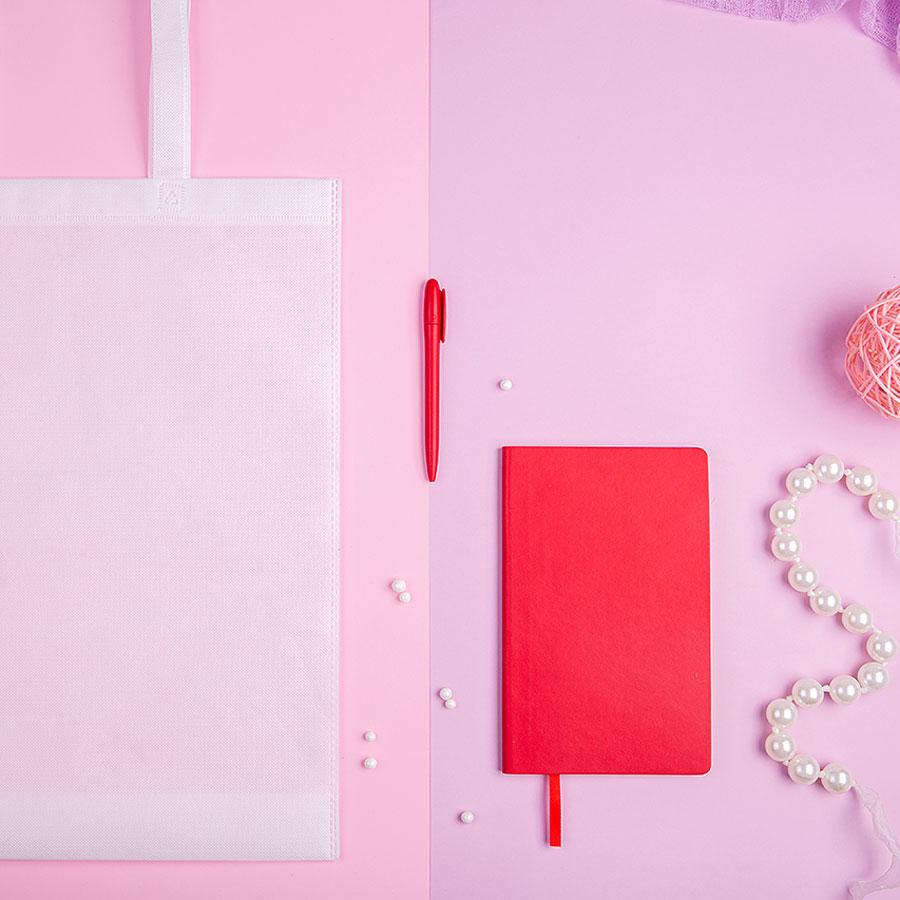 Набор подарочный CONCEPT L: бизнес-блокнот, ручка, сумка