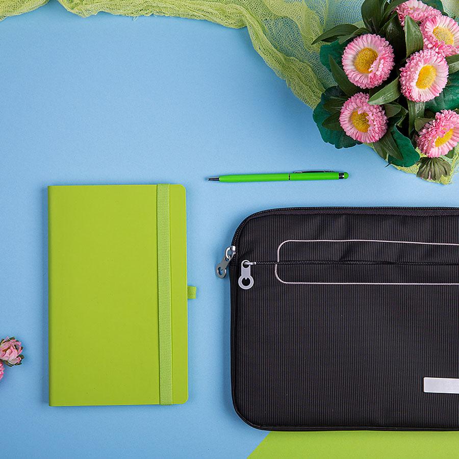 Набор подарочный LEVEL UP: бизнес-блокнот, ручка, чехол для планшета