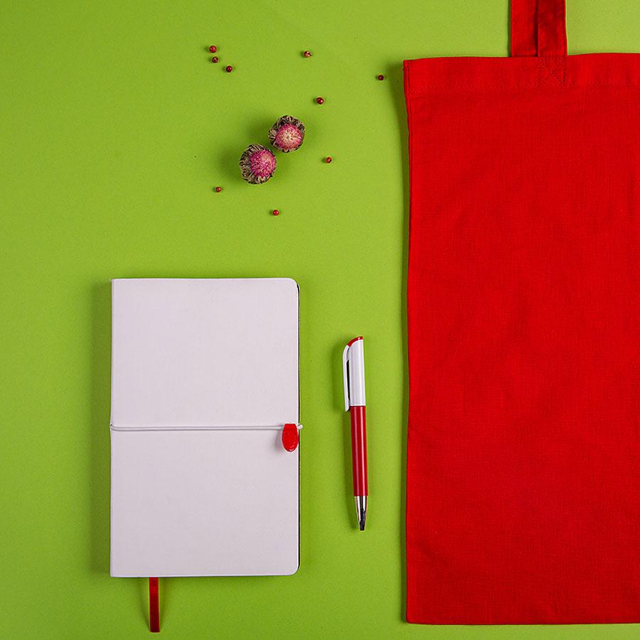 Набор подарочный WHITEYOU: бизнес-блокнот, ручка, сумка