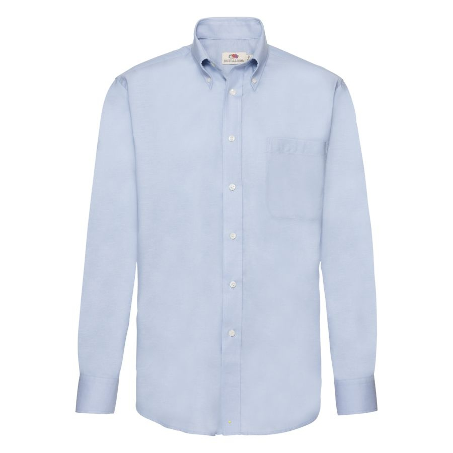 Рубашка мужская LONG SLEEVE OXFORD SHIRT 130